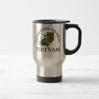 1r Identificación Vietnam Taza De Viaje De Acero Inoxidable