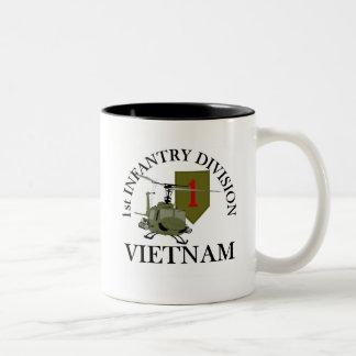 1r Identificación Vietnam Taza De Café De Dos Colores