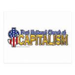 1r Iglesia nacional del capitalismo Tarjetas Postales