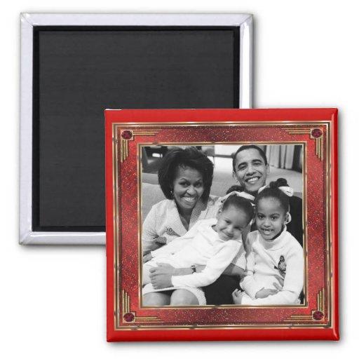 1r imán de los recuerdos de la familia de presiden