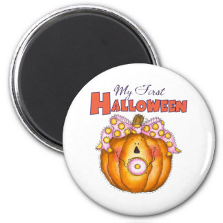 1r imán del refrigerador de Halloween del bebé