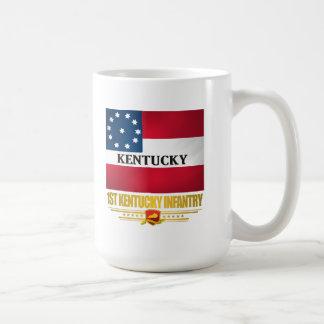 1r Infantería de Kentucky Taza De Café