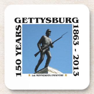 1r Infantería de Minnesota - 150o Gettysburg Posavasos