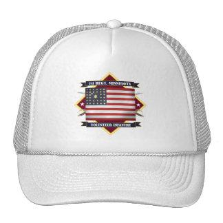 1r Infantería de Minnesota Gorras De Camionero