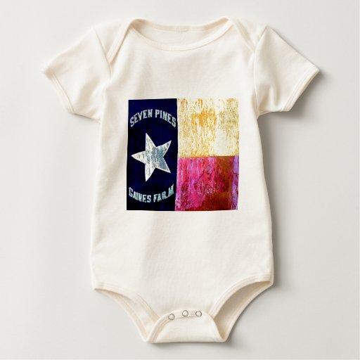 1r Infantería de Tejas, la brigada de la capilla, Body Para Bebé