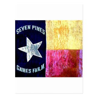 1r Infantería de Tejas, la brigada de la capilla, Postales