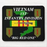 1r Infantería Vietnam Mousepad Tapetes De Raton