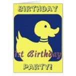 1r Invitaciones de la fiesta de cumpleaños Felicitacion