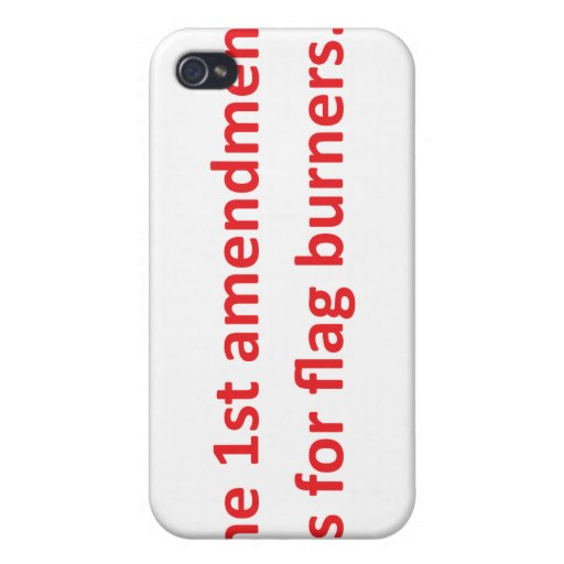 1r La enmienda está para las hornillas de la bande iPhone 4/4S Carcasa