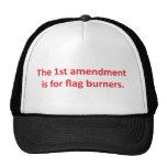 1r La enmienda está para las hornillas de la bande Gorro