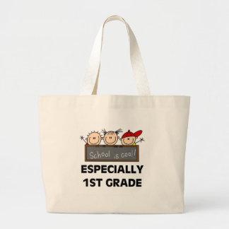 1r La escuela primaria es camisetas y regalos fres Bolsas