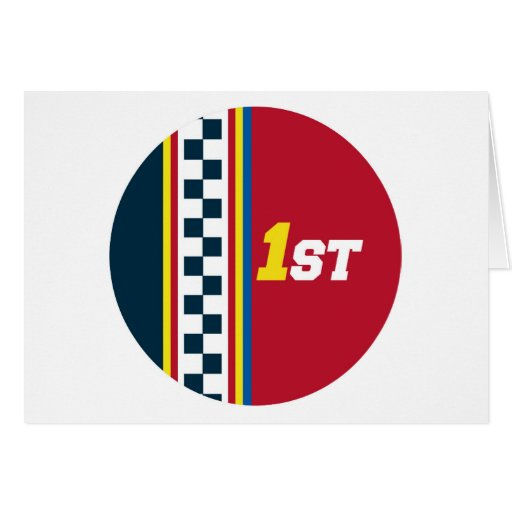 1r lugar - pole position tarjeta