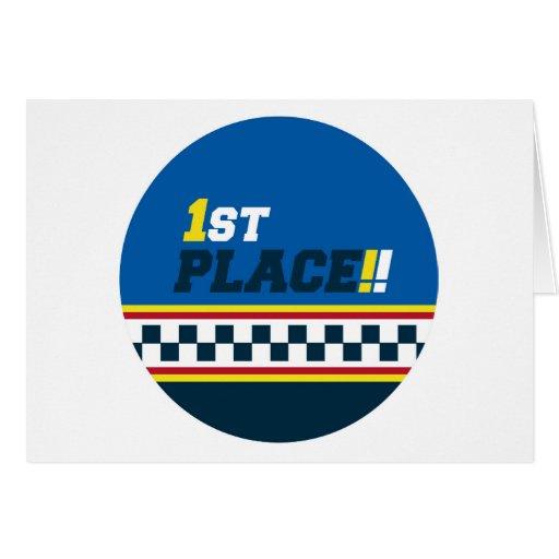 1r lugar - pole position tarjetas