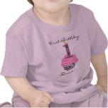 1r Magdalena de la diva del cumpleaños Camisetas