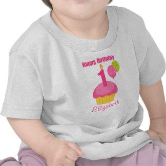 1r Magdalena del rosa de la camisa del cumpleaños