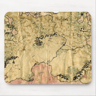 1r Mapa del reino olvidado Alfombrillas De Raton