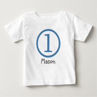 1r Muchacho adaptable de la camiseta del