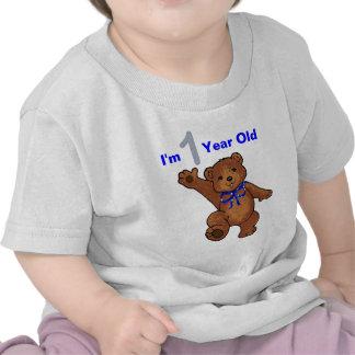1r Muchacho de la fiesta de cumpleaños Camiseta