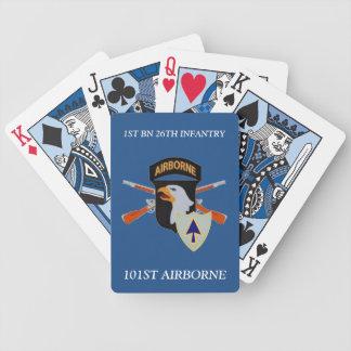 1r NAIPES AEROTRANSPORTADOS de la vigésima sexta Baraja Cartas De Poker