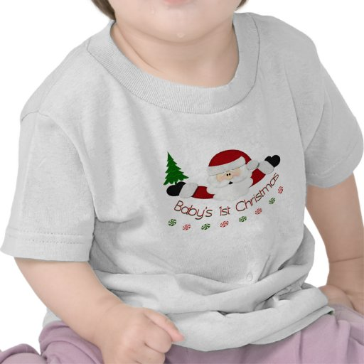 1r navidad de Babys Camiseta