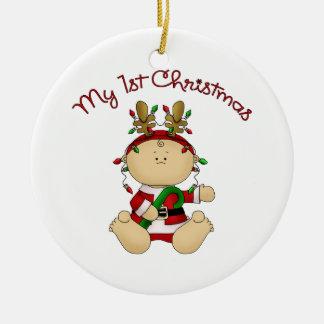 1r navidad de Babys Ornamento Para Arbol De Navidad