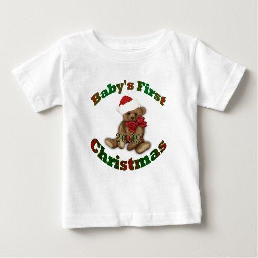 1r navidad de Babys Tee Shirts