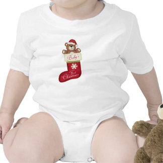 1r navidad del bebé traje de bebé