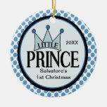 1r navidad ornamento del pequeño príncipe adorno