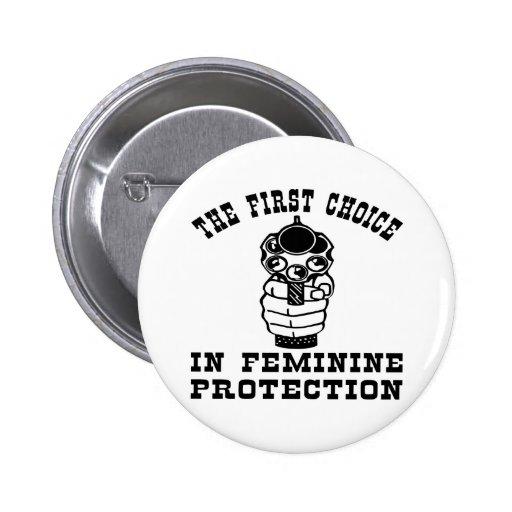 1r Opción en la protección femenina, un arma Pin