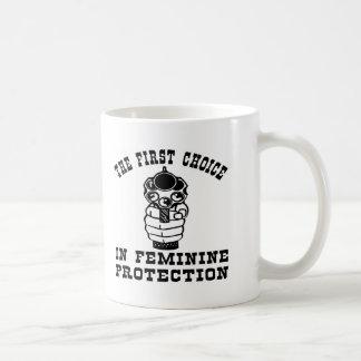 1r Opción en la protección femenina un arma Tazas
