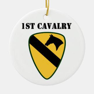 1r Ornamento de la división de la caballería Ornamento De Navidad