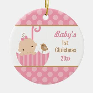 1r ornamento del navidad de Babys Ornamentos De Navidad