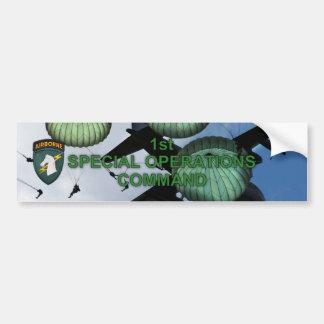 1r palillo del parachoque del socom del comando de pegatina para auto