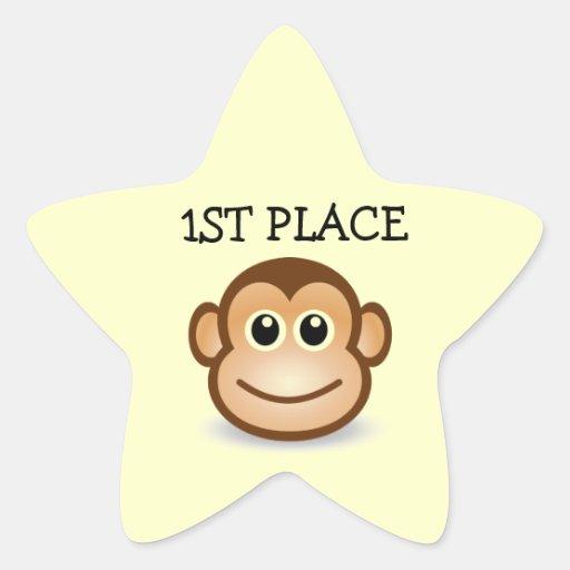 1r Pegatinas de la estrella de los niños del lugar Pegatinas Forma De Estrellaes Personalizadas