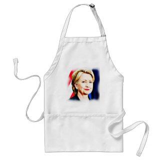 1r Presidente Hillary Clinton 2016_ de la mujer Delantal