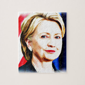1r Presidente Hillary Clinton 2016_ de la mujer Rompecabeza Con Fotos