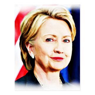 1r Presidente Hillary Clinton 2016_ de la mujer Tarjetas Postales