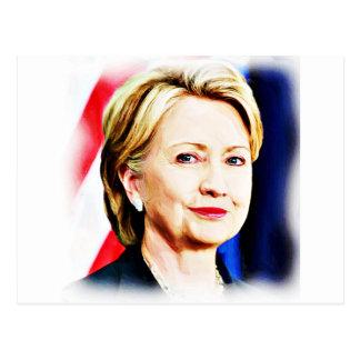 1r Presidente Hillary Clinton 2016_ de la mujer Postal