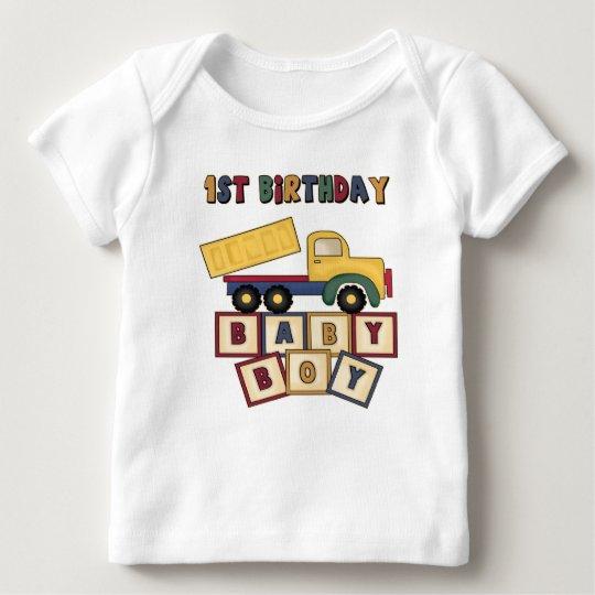 1r Primera camiseta de los regalos de cumpleaños