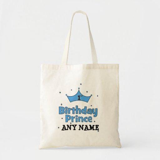1r Príncipe del cumpleaños Bolsa Tela Barata