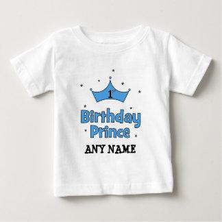 1r Príncipe del cumpleaños Playera De Bebé