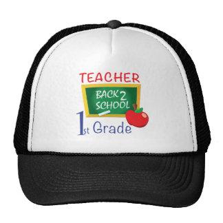 1r Profesor del grado Gorra