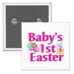 1r regalo de Pascua del bebé Pins