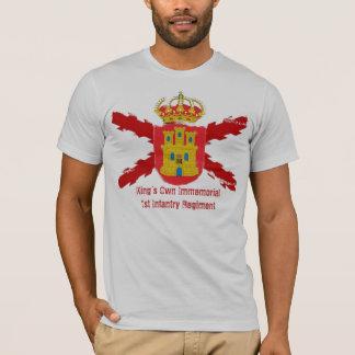 1r Regimiento de infantería Immemorial de rey de Playera