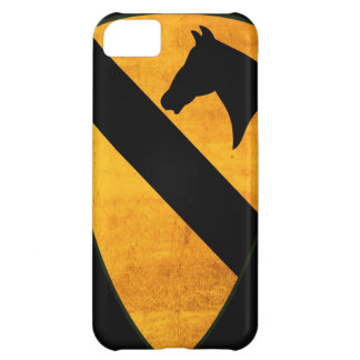 1r Remiendo de la división de la caballería llevad Funda Para iPhone 5C