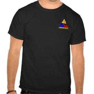 1r Remiendo viejo del hombre fuerte del ANUNCIO Camiseta