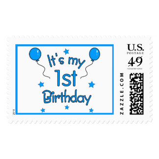 1r Sellos del cumpleaños