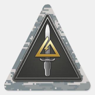 1r Separación-Delta operativo de las fuerzas Calcomanía Triangulo