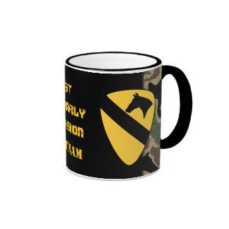 1r Taza de café de la placa del diamante de la div