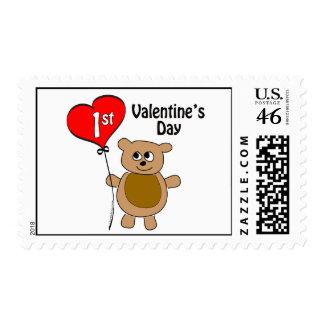 1r tema del oso del el día de San Valentín de Baby Envio